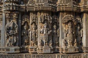 Templo de Chennakeshava, Somanthapura, Karnataka, India foto