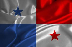 Panama flag photo
