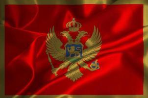 bandera de montenegro foto