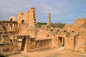 Libya, Tripoli, Leptis Magna Roman archaeological site.