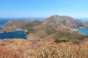 Porto Kagio y Marmari, la región de Mani, Peloponeso, Grecia foto