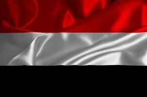 bandera de yemen foto