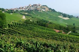 The Village of La Morra in Piedmont