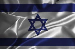 Israel flag photo