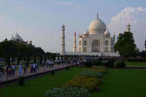mausoleo taj-mahal foto