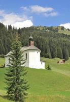 Chapel of Baad in Kleinwalsertal,Austria