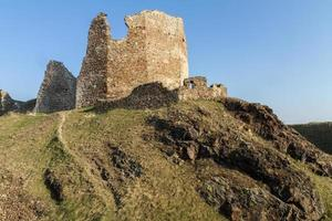 ruinas del castillo de lichnice, república checa foto