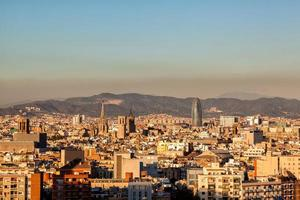 City scape of Barcelona, Spain