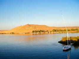 The River Nile in Egypte photo