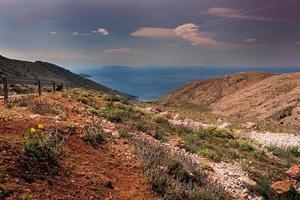 Coast in Krk, Croatia