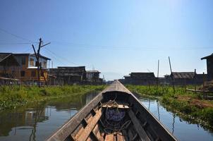 Floating village Inle Lake