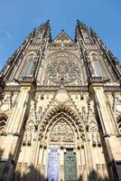 Prague St Vitus cathedral, Czech republic