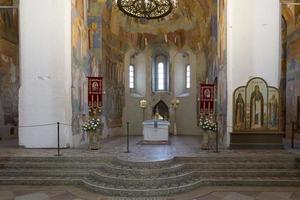 Catedral de la transfiguración construida en el siglo XVI en suzdal. la unesco foto