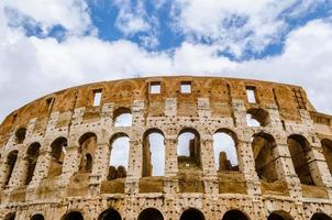 Colosseum the most well-known and remarkable landmark of Rome an