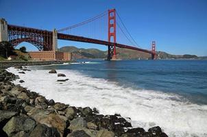 punto fuerte y puente golden gate foto
