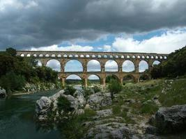 pont du gard, gard, francia 001 foto