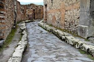 Ancient Road Pompeii