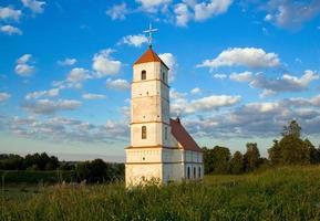 antigua iglesia en bielorrusia foto