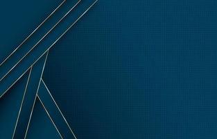 Geometric Gradient Dark Blue Background