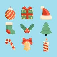 Jolly Christmas Icon Set