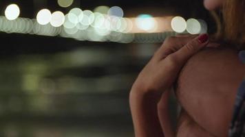 Zeitlupe des jungen Paares Nahaufnahme video