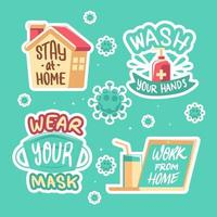 New Normal Habit Reminder Sticker Pack