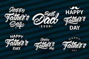 Father's Day Lettering Big Set