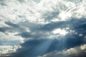 espectacular cielo nublado