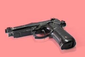 pistola de aire de cargador corto foto