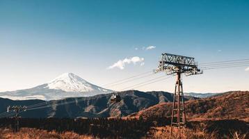 hermosa montaña fuji