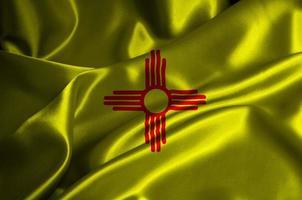 bandera de nuevo mexico foto