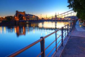 Puente Grunwald en Wroclaw, Polonia foto