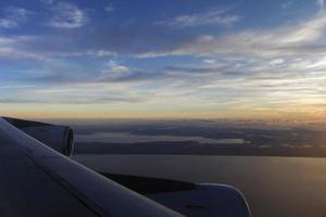 Airplane Over Sky photo