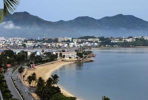 The city of Nha Trang, East coast, Vietnam photo
