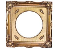 The isolated picture frame photo