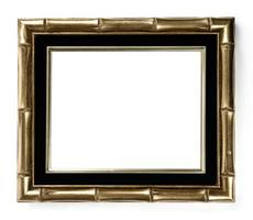 Gilded Bamboo Picture Frame