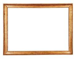 antique golden frame photo