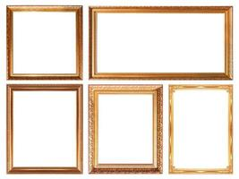 glod  picture frame
