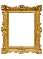 Plastic Golden Picture Frame w/ Path photo