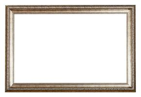 baroque style sliver wooden picture frame photo