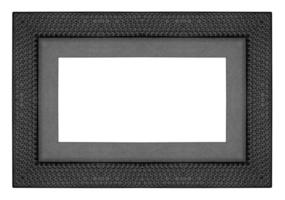 Picture frame on the white background.