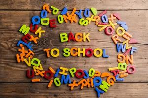 Back to school composition photo