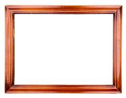 Old wooden frame photo