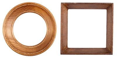 Two wooden frames photo