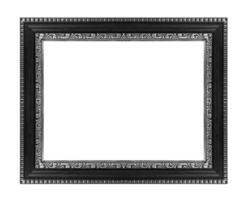 picture frame ancient isolated on white background.