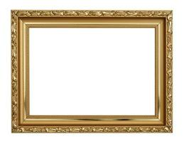 Gold frame photo