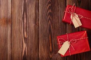 twee geschenkdozen