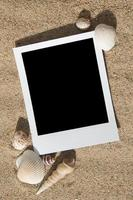 Summer beach photo frames