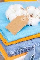 cotton clothes photo