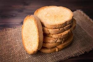 Toasted bread and wheat photo